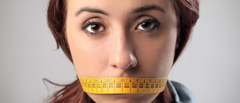 A dieta da boca fechada