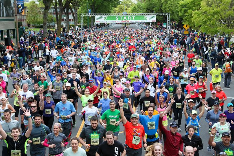 A melhor corrida do mundo Maratona de Eugene